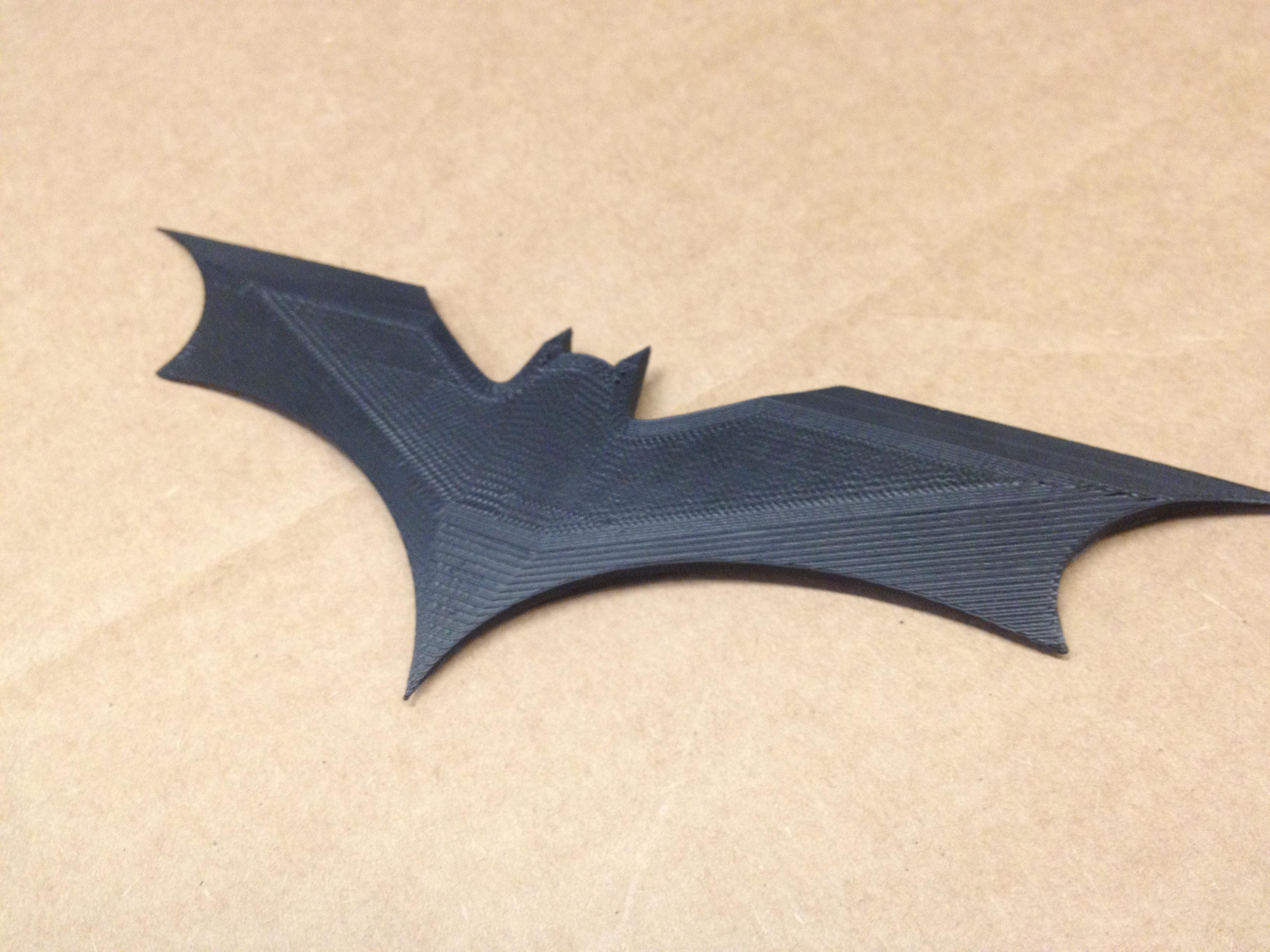dark knight rises batarang by thatttuguy thingiverse